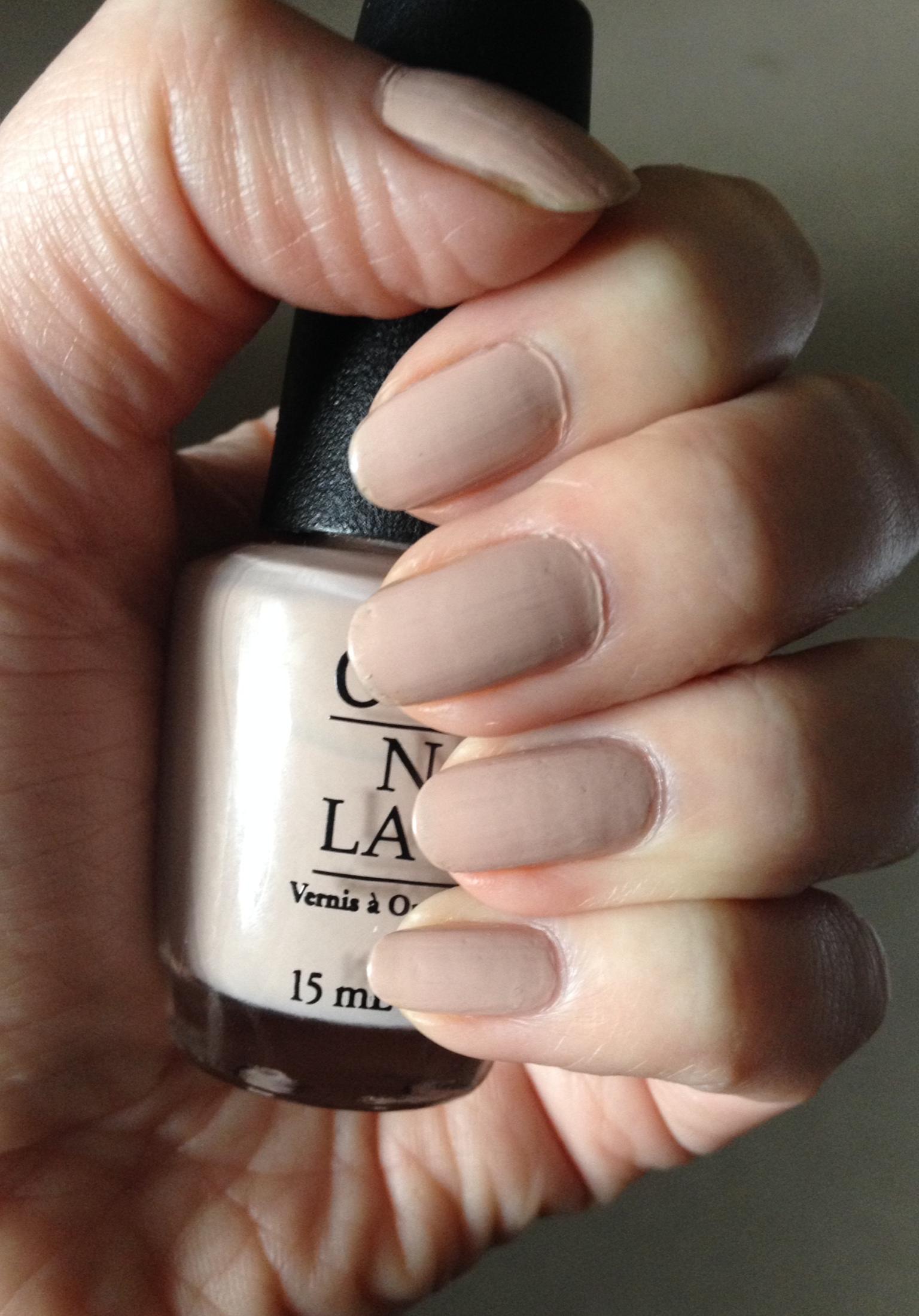 The perfect nude nail polish... - Rebecca Barnes